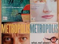 For sale, 12 years of Metropolis magazines, April 1991-