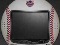 I HAVE A METS TV BASEBALL SHAPED 10 INCH NEED THE DC
