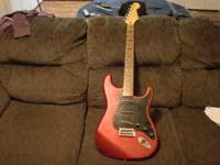 I have a red satin mexican fender stratocaster for sale