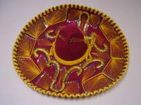 Large Mexican Vintage Sombrero Hat in excellent
