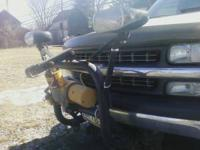 Meyer Snow Plow Has a Frame Mount for a 01 Chevy and