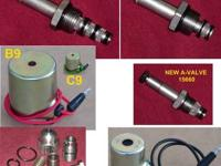 Complete Set of Valves & Coils for the E47, E57, or E60