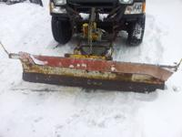 I have a used 6.5 foot Meyers snow plow for sale. It is