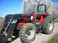 Bought new in 2000, 80 hp tractor , 12 sp with 4