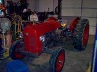Massey 35 utility- gas engine with new rings and trans.