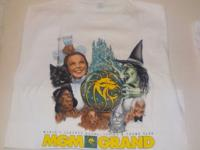 MGM GRAND WIZARD OF OZ T-SHIRT 1993 RARE NEVER WORN