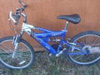 Easy riding Mountain Bicycle, 24 inch wheels, with all