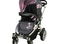 The Mia Moda Atmosferra Stroller in Grey is a