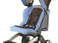 The Mia Moda Cielo stroller is a traveler's dream. Its