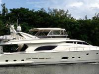 The amazing Ferretti Yacht 840 is for Sale and
