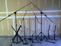 I have a bunch of mic stands for sale: 2 - ProLine