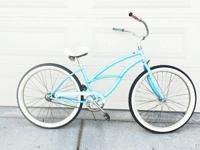 "This is a 26"" Micargi beach cruiser.Rides smooth easy"