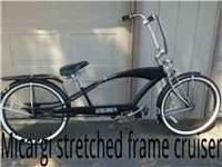 I am asking $300.00 obo on this stretched frame Micargi