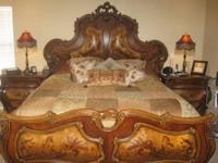 Beau Michael Amini, Palais Royale, Bedroom Furniture Set