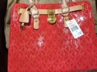 Brand new Michael kors hand bag . With genuine leather,