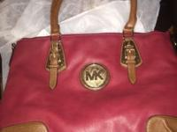 Burgundy, Beautiful MK Purse. New never used. Cleaning