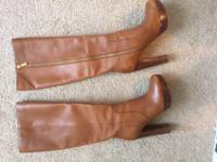 Michael Kors Chestnut High Heel Boots! Gorgeous and