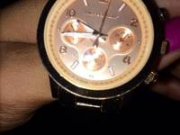 Michael Kors watch increased gold In wonderful
