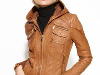 MICHAEL Michael Kors' leather jacket elevates your