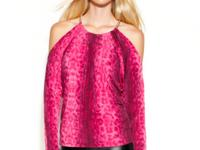 A vibrantly-hued animal print lends a dose of the