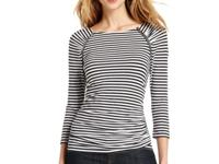 Long and lean, this MICHAEL Michael Kors top boasts the