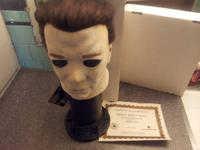 This is a Michael Myers mask. its 1 of 1000 and
