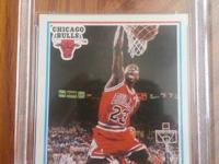 Offering 2 Michael Jordan Basketball cards. The 1st is