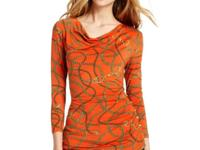 MICHAEL Michael Kors' cool status-printed top edges up