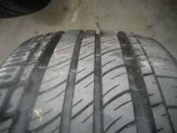 Selling a pair of Michelin MXV4 235 55 R17 for $60.