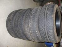 Up for sale are a set of 4 Michelin 235/45ZR/17...