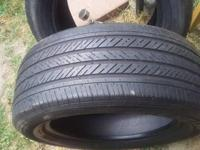 I have some used and new tires for sell. They have 75%