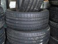 Michelin Latitude Sport 255/45/20 tires list price $348