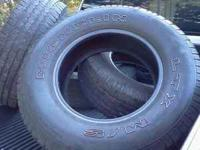 I have a used set of 4 michelin tires for sale. Still