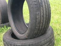 2 225/50R17 Michelin Pilot all-season tires for sale,