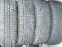 HERE IS A MATCHING SET OF 4 MICHELINS 205 55 16 JUST