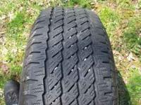 I have 3 michellin cross terrain tires with lots of