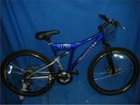 Michelob Ultra Dual Suspension 18in 21spd Mountain