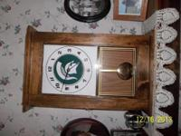 This Michigan State Clock is completely handmade