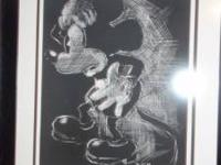 "The ""In The Dark"" portrait is nuber 37 of 100 Mickey"