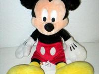 This authentic original Mickey Mouse Doll determines