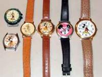 several mickey watches ... all for one price ... or i