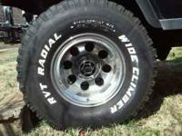 15'' Inch Mickey Thompson Alloy Wheels with 33'' inch