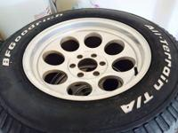 I have 4 Mickey Thompson rims for sale. They are 18x10