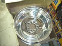 New in the box 2 M/T wheels 15x10, Bolt 4.75, B.S. 5.5