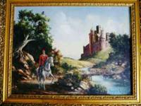 ITEM BEEN OFFER FOR SALE IS THIS BEAUTIFUL ORIGINAL OIL