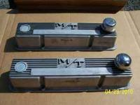 Old Mickey Thompson Valve Covers for Small Block Chevy