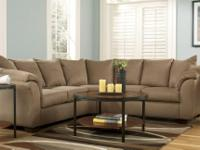Micro-fiber Sectional Brand New Available in 4 colors