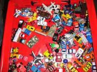 Over 100 rare micro machines all kinds to manny to list