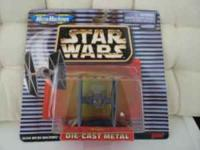 Diecast Metal Micro machines , Star Wars Vehicles from