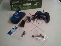 I have a slightly used E-Flite Blade mSR to sell. I'm